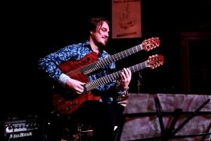 Sofia Rubina - voc, Jason Hunter - trumpet, Andre Maaker - guitars. Live @ Tartu Jazz Club.