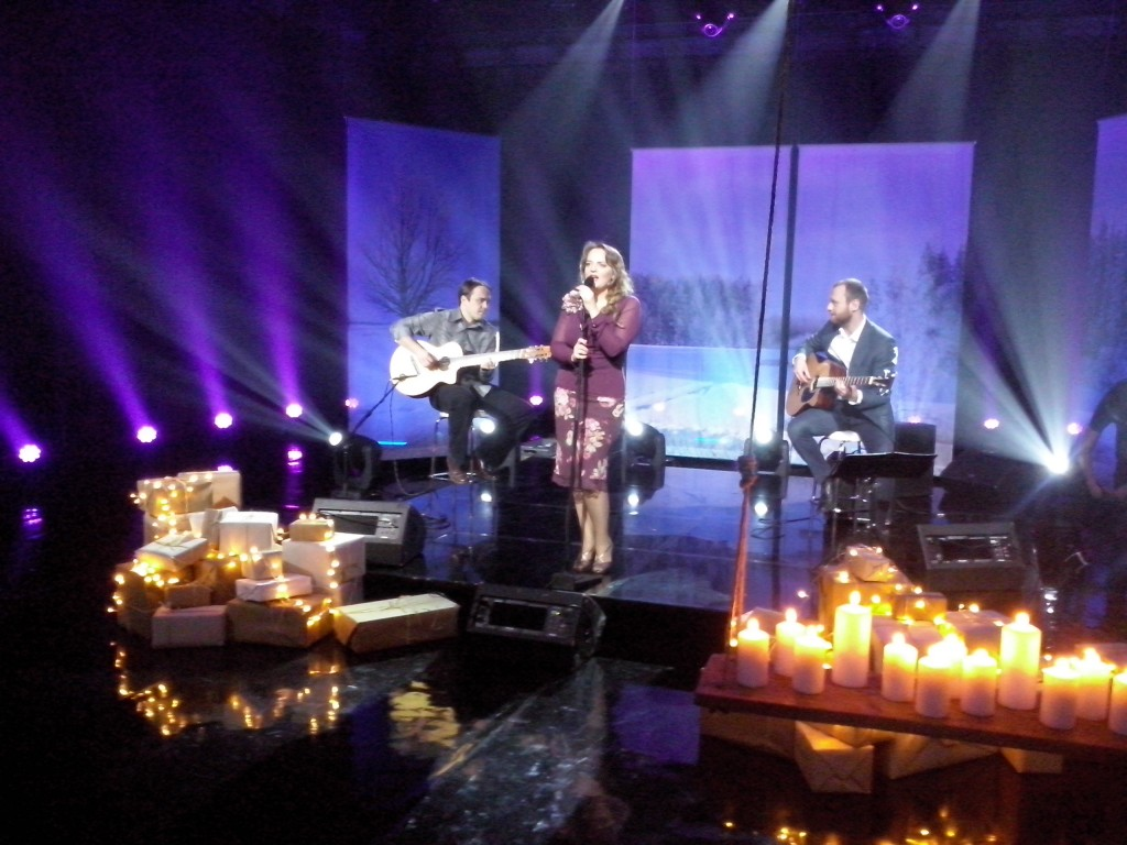 Live @ Estonian Television. Christmas charity programme 2013